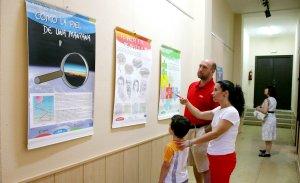 La casa de la cultura acoge una exposición sobre el cambio climático