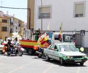 Los actos religiosos centran las fiestas en honor de San Cristóbal