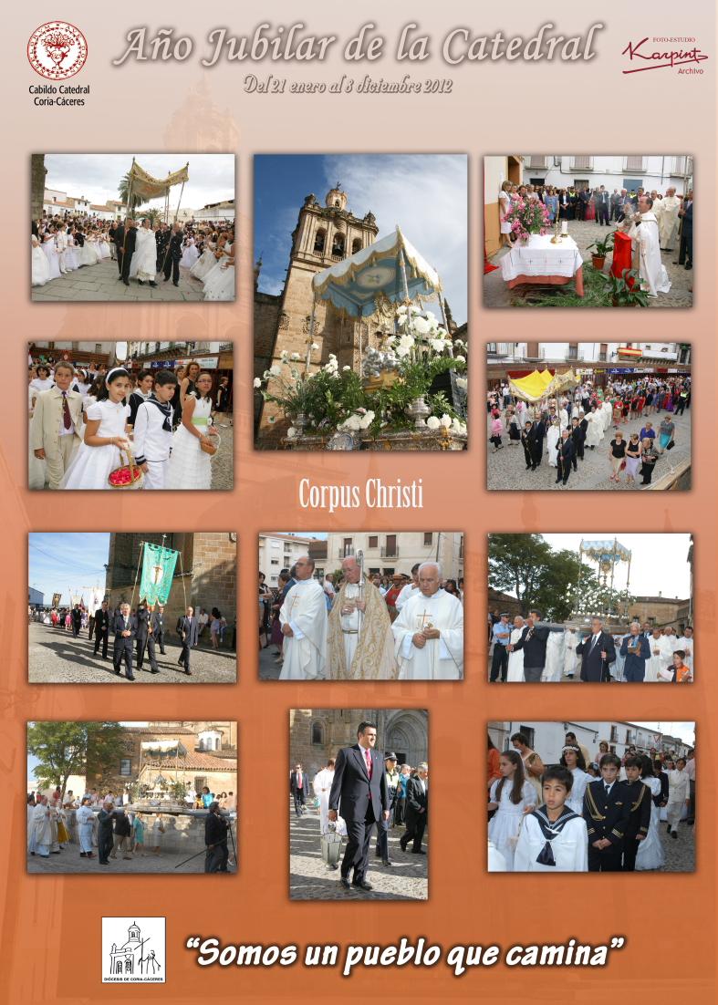 exposición año jubilar catedral de coria
