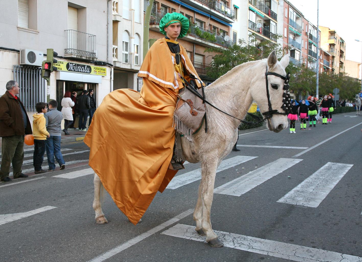 cabalgata de reyes coria
