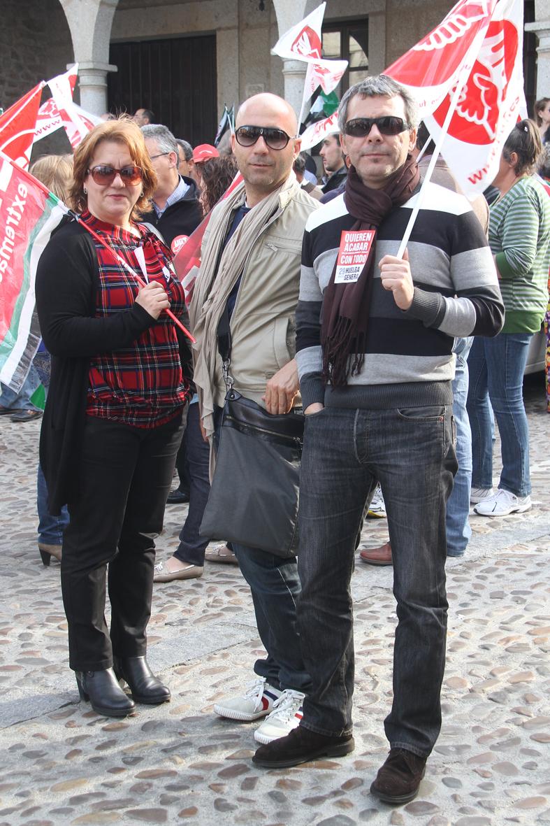 Manifestación 29 marzo.Huelga general 2012