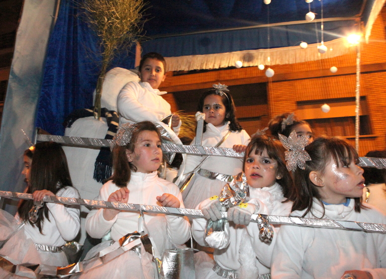 Cabalgata Reyes Coria 2013